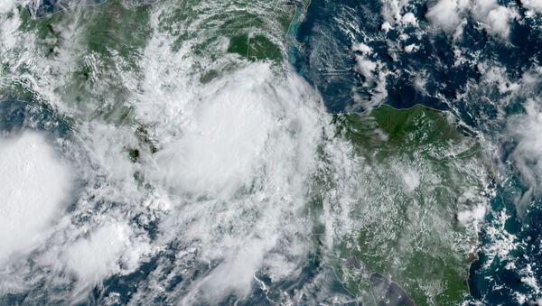 Tormenta tropical Nana - Sputnik Mundo