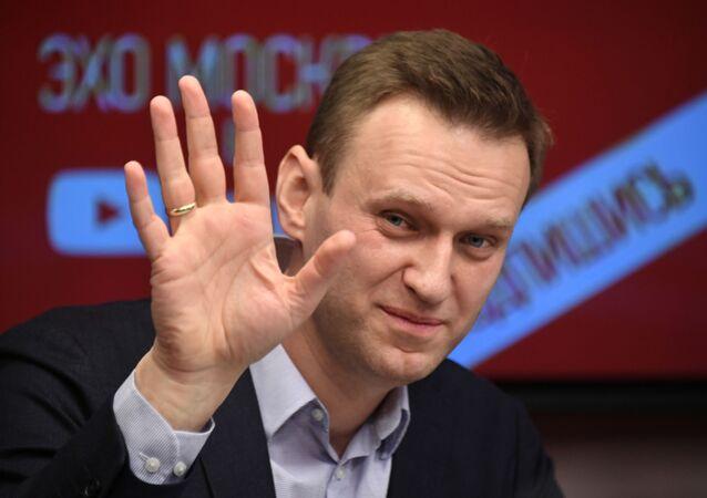 Alexéi Navalni, político ruso