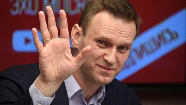 Alexéi Navalni, político ruso - Sputnik Mundo