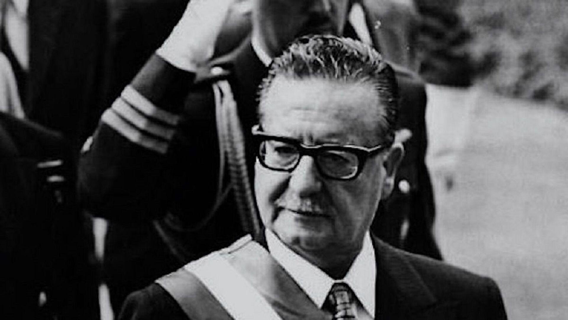 Salvador Allende, presidente chileno entre 1970 y 1973 - Sputnik Mundo, 1920, 04.09.2020