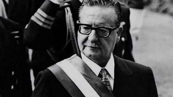 Salvador Allende, presidente chileno entre 1970 y 1973 - Sputnik Mundo