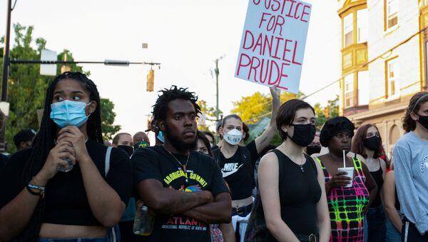 Protestas en Rochester, EEUU - Sputnik Mundo