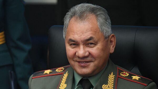 Serguéi Shoigú, el ministro ruso de Defensa - Sputnik Mundo