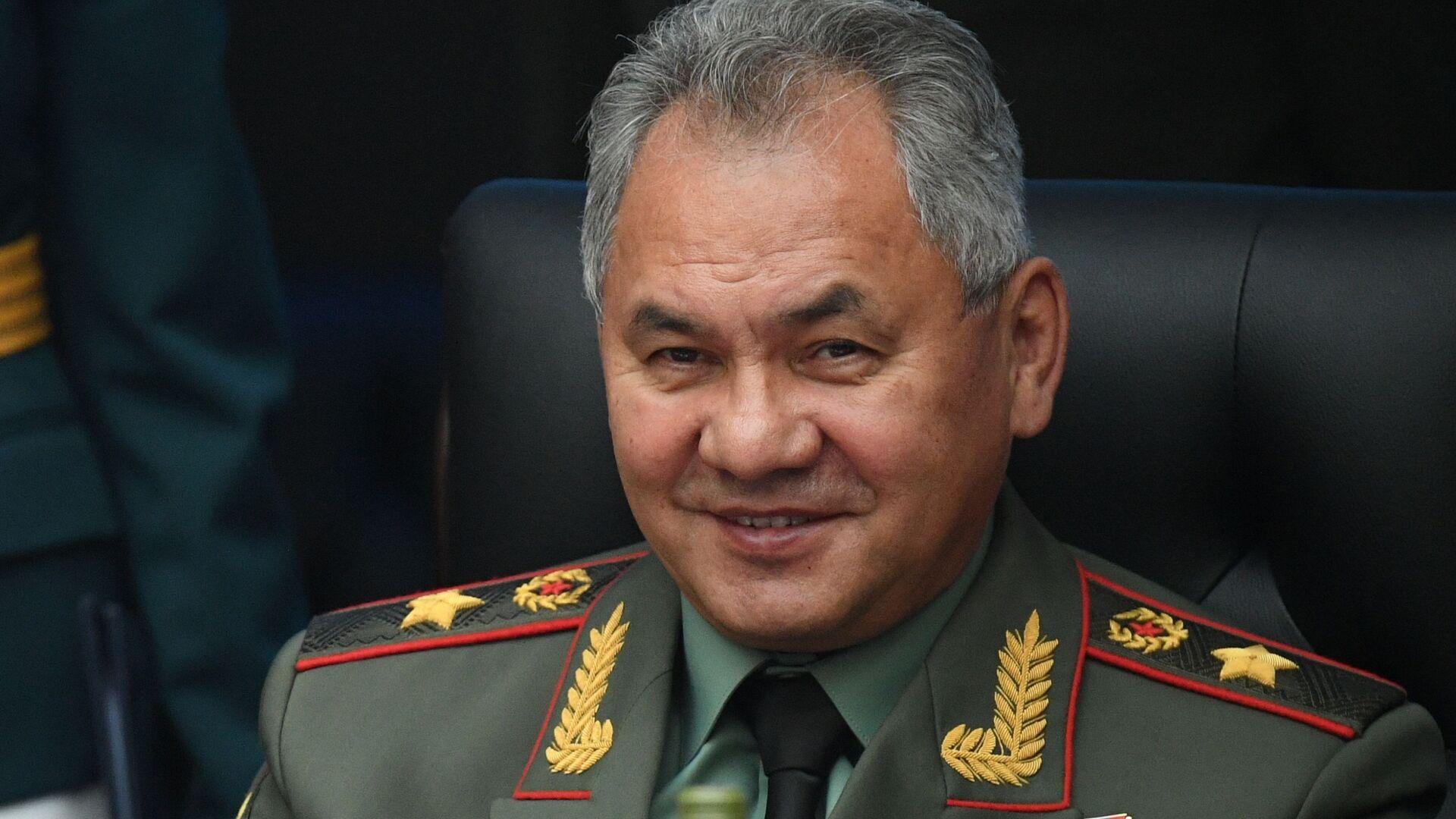 Serguéi Shoigú, el ministro ruso de Defensa - Sputnik Mundo, 1920, 17.03.2021