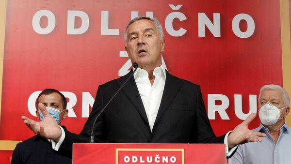 Milo Dukanovic, el presidente de Montenegro - Sputnik Mundo