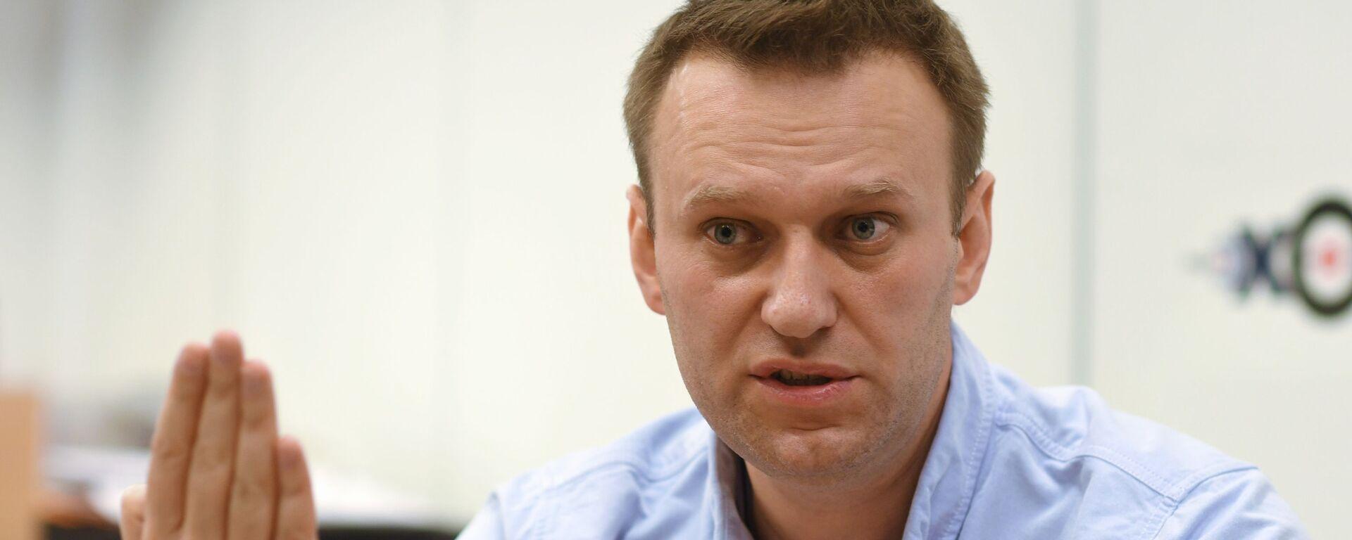 Alexéi Navalni, activista opositor ruso - Sputnik Mundo, 1920, 25.05.2021