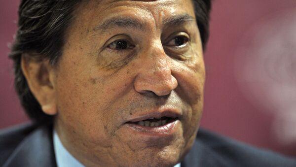 Alejandro Toledo, expresidente de Perú - Sputnik Mundo