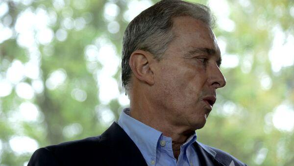 Álvaro Uribe, expresidente y exsenador de Colombia - Sputnik Mundo