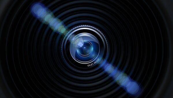 La lente de una cámara (ilustración) - Sputnik Mundo