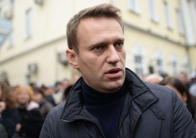 Alexéi Navalni, activista opositor ruso