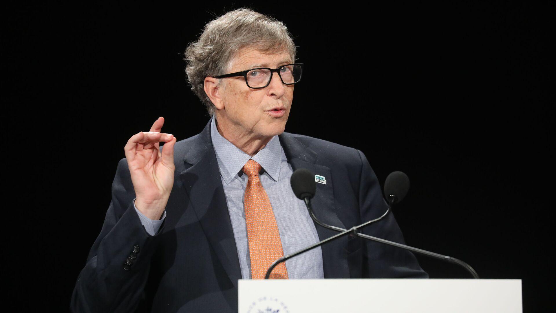 Bill Gates, fundador de Microsoft - Sputnik Mundo, 1920, 11.05.2021