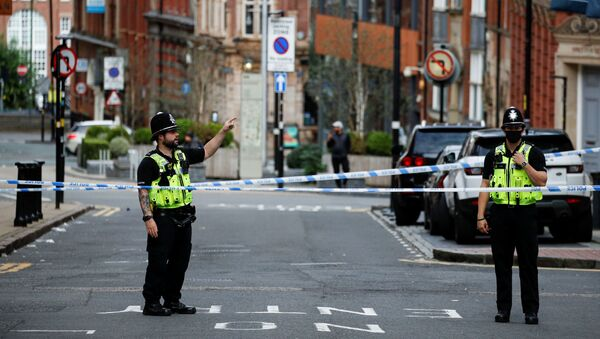 Policía británica en Birmingham - Sputnik Mundo