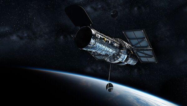 Una representación del telescopio espacial Hubble - Sputnik Mundo