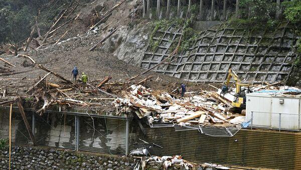 Consecuencias del tifón Haishen en Japón - Sputnik Mundo