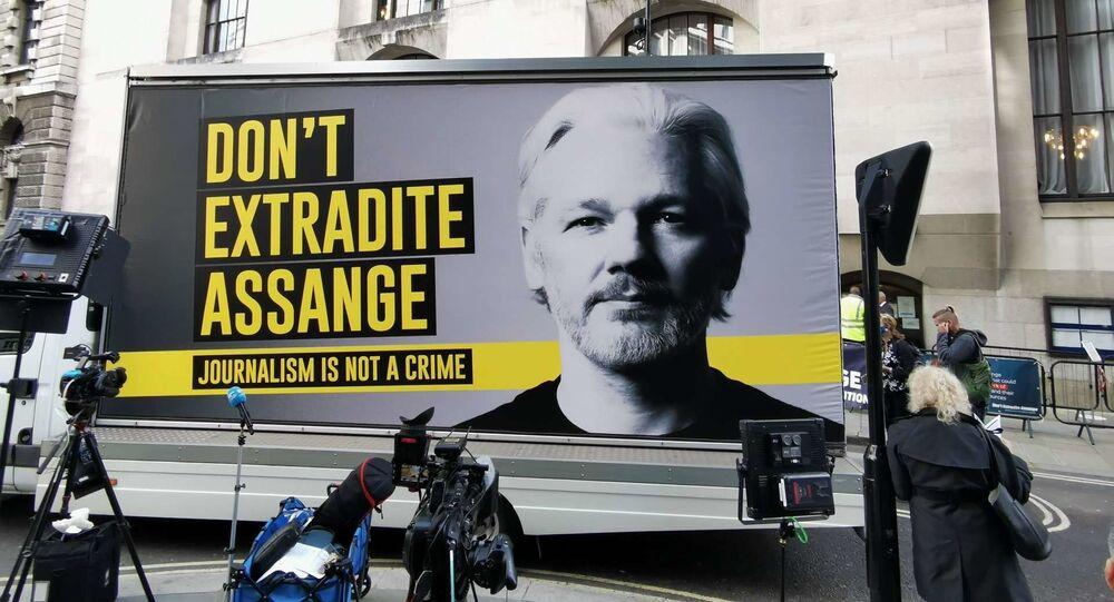Los defensores de Julian Assange ante la Corte Criminal Central de Londres