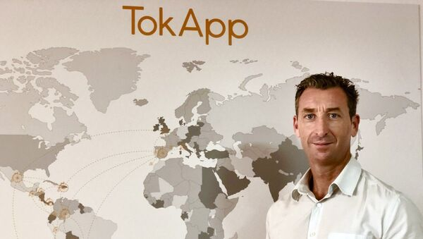 Edelmiro Justo, director adjunto de la empresa gallega TokApp  - Sputnik Mundo