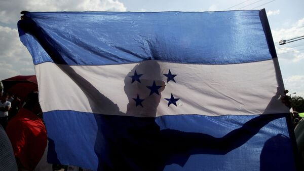 Bandera de Honduras - Sputnik Mundo