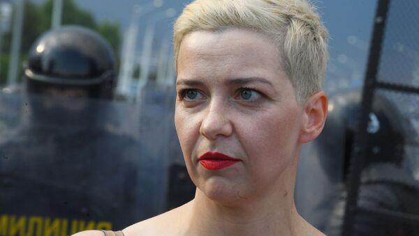 María Kolésnikova, miembro de la mesa directiva del Consejo de Coordinación (CC) - Sputnik Mundo