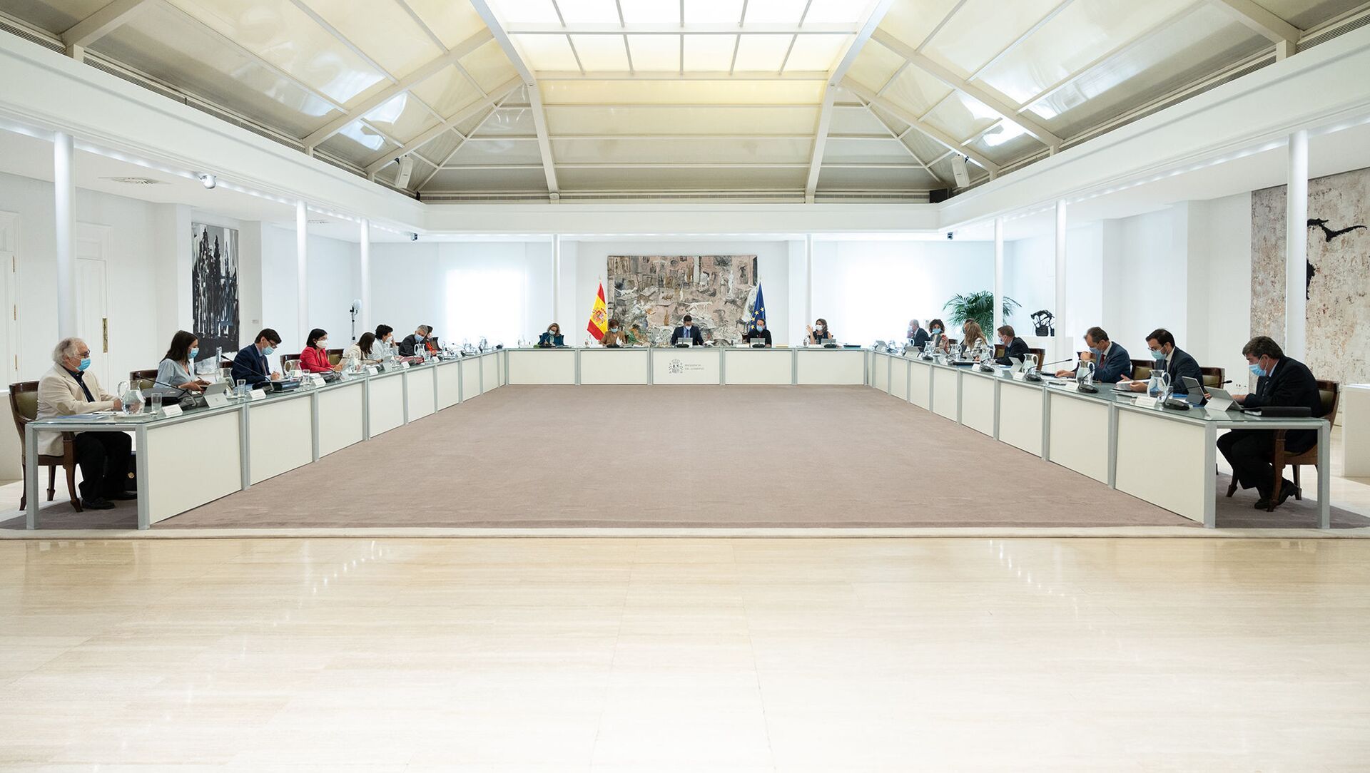 Consejo de Ministros de España - Sputnik Mundo, 1920, 15.09.2020