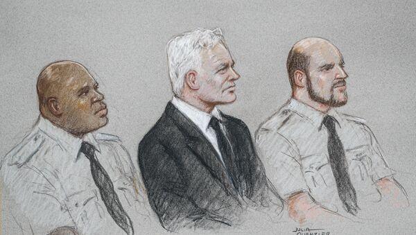 El juicio sobre la extradición de Julian Assange a EEUU - Sputnik Mundo