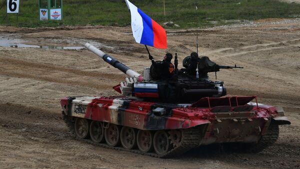 Un equipo ruso en los Juegos Militares Army 2020 - Sputnik Mundo