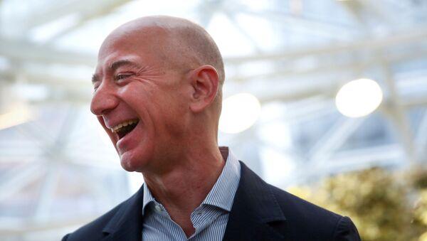 Jeff Bezos, fundador de Amazon - Sputnik Mundo