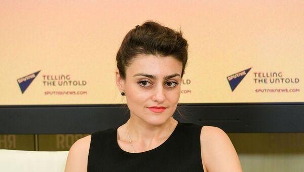 Ilona Ovakimián, jefa de la web y de la radio Sputnik Mundo - Sputnik Mundo