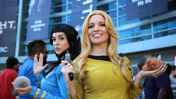 Un cosplay de Star Trek - Sputnik Mundo