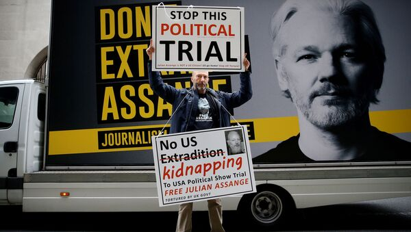 Un defensor de Julian Assange ante la Corte Criminal Central de Londres - Sputnik Mundo