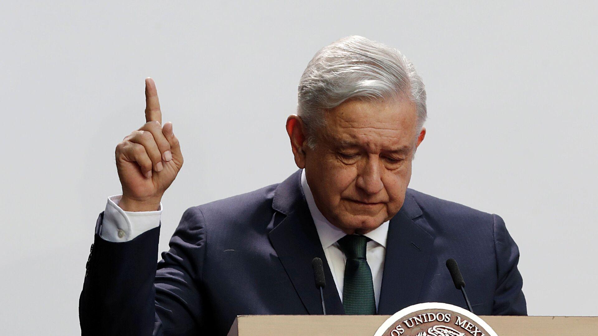 Andres Manuel López Obrador, presidente de México - Sputnik Mundo, 1920, 03.05.2021