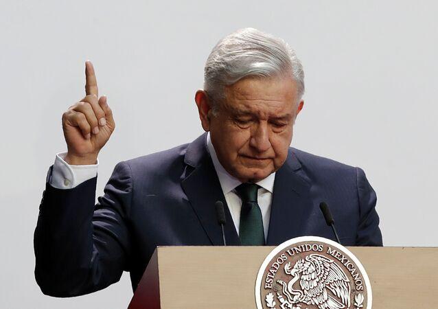 Andres Manuel López Obrador, presidente de México