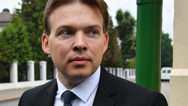 Maxim Znak, miembro del opositor Consejo de Coordinación bielorruso - Sputnik Mundo