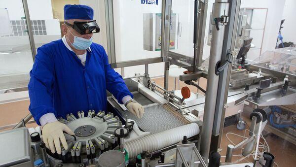 Producción de la vacuna contra el coronavirus - Sputnik Mundo