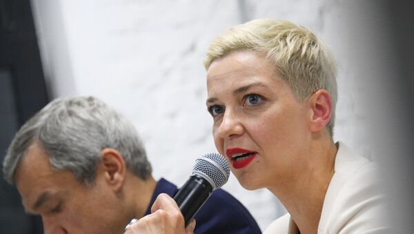 La opositora bielorrusa María Kolésnikova - Sputnik Mundo