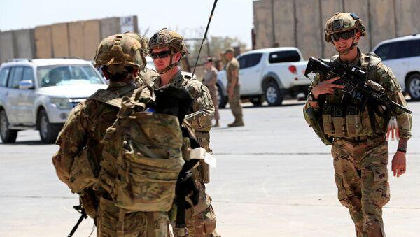 Soldados estadounidenses en Irak - Sputnik Mundo