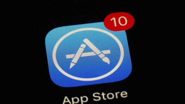 El ícono de App Store - Sputnik Mundo