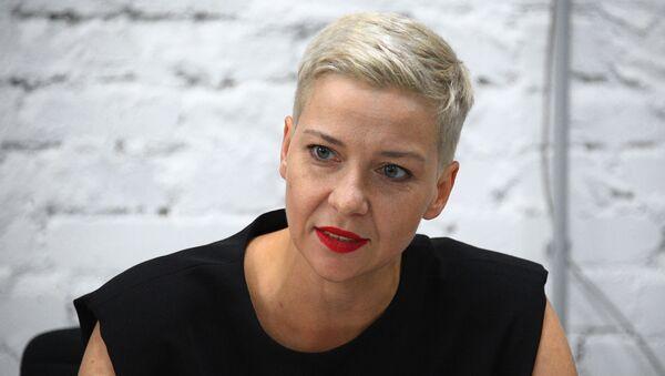 La opositora María Kolésnikova, miembro de la cúpula del Consejo de Coordinación (CC) bielorruso - Sputnik Mundo