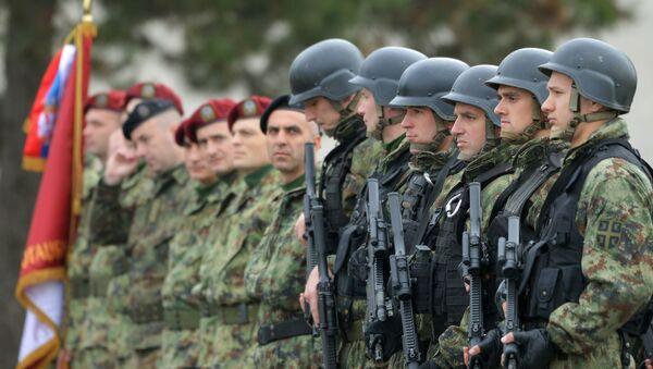 Los militares serbios - Sputnik Mundo