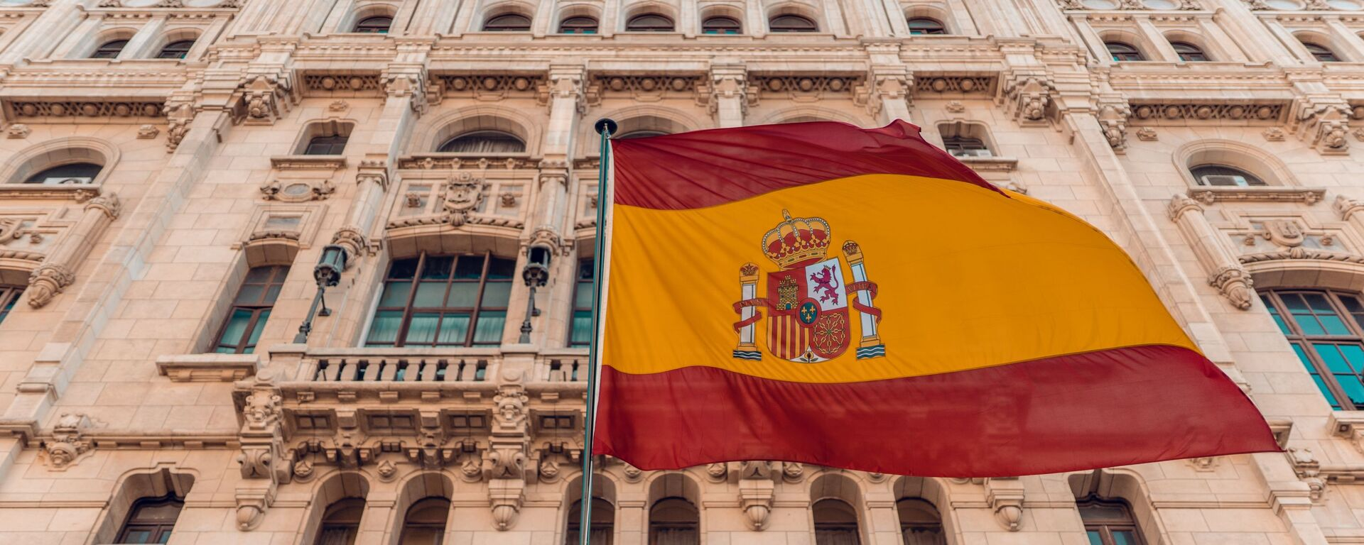 La bandera de España  - Sputnik Mundo, 1920, 04.06.2021