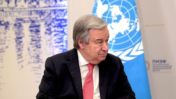 El secretario general de la ONU, António Guterres - Sputnik Mundo