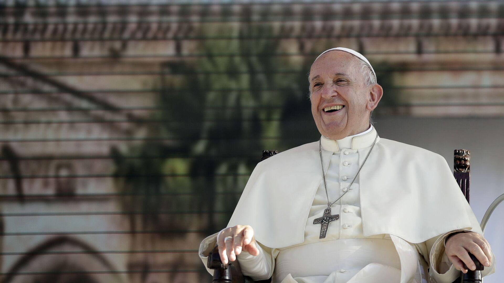 Papa Francisco, foto de archivo - Sputnik Mundo, 1920, 26.05.2021