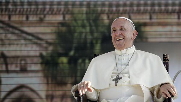 Papa Francisco, foto de archivo - Sputnik Mundo