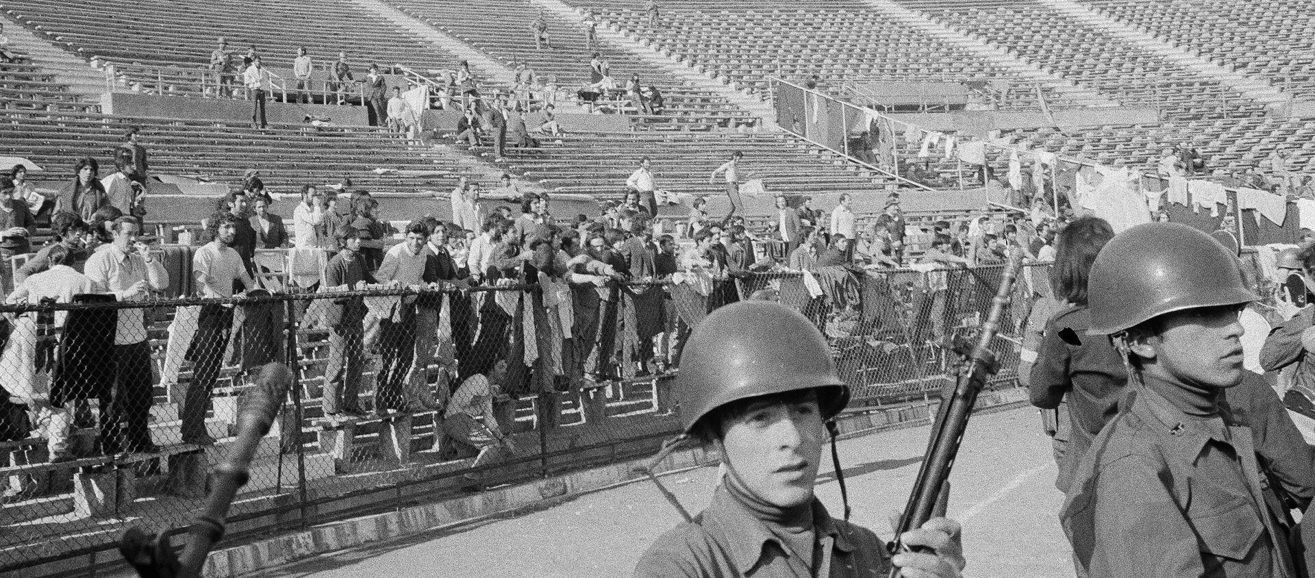 Golpe de Estado Chile 1973 - Sputnik Mundo, 1920, 18.11.2020