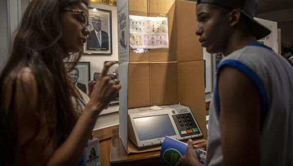 Elecciones en Brasil (archivo) - Sputnik Mundo