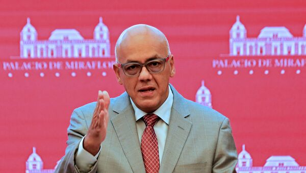 Jorge Rodríguez, candidato a diputado por el Gran Polo Patriótico  - Sputnik Mundo