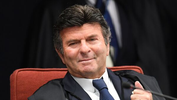 Luiz Fux, nuevo presidente del Tribunal Supremo Federal de Brasil - Sputnik Mundo