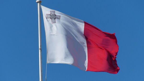 La bandera de Malta (imagen referencial) - Sputnik Mundo