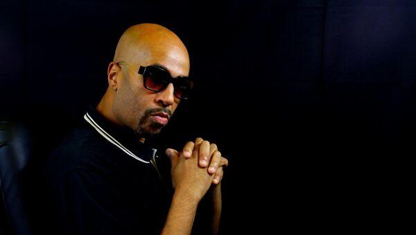 El artista y productor de hip hop español Jota Mayúscula - Sputnik Mundo