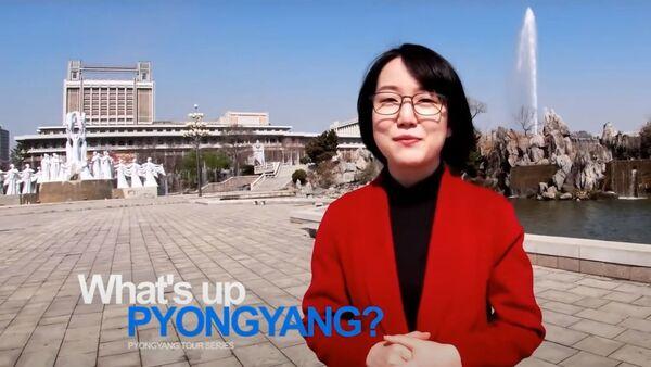 Un A, presentadora del canal norcoreano Echo of Truth - Sputnik Mundo