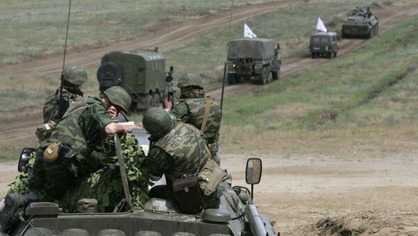 Maniobras Kavkaz (archivo) - Sputnik Mundo